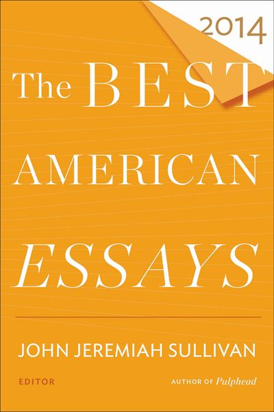 Buy The Best American Essays 2014 at Amazon