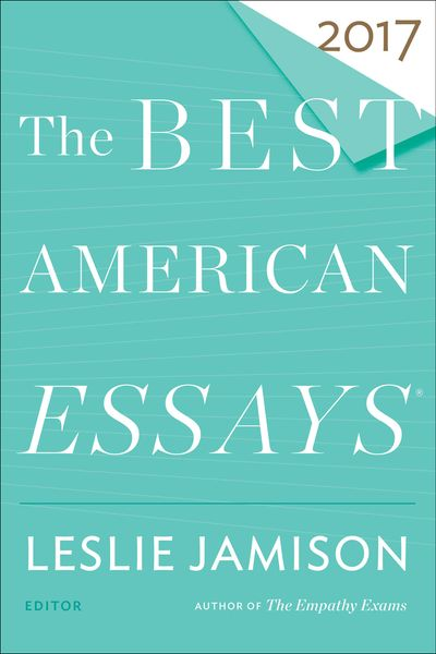 Buy The Best American Essays 2017 at Amazon