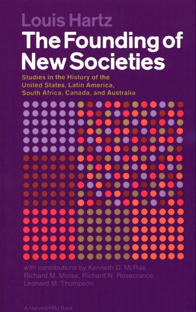 Buy The Founding of New Societies at Amazon