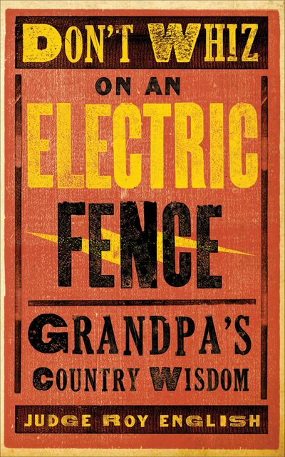 Buy Don't Whiz on an Electric Fence at Amazon