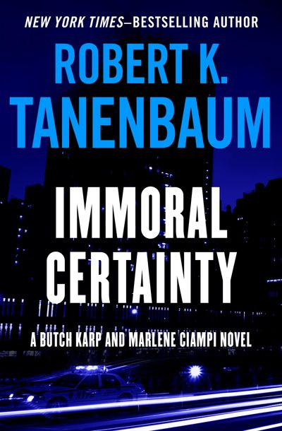 Buy Immoral Certainty at Amazon