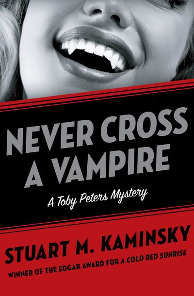 Buy Never Cross a Vampire at Amazon
