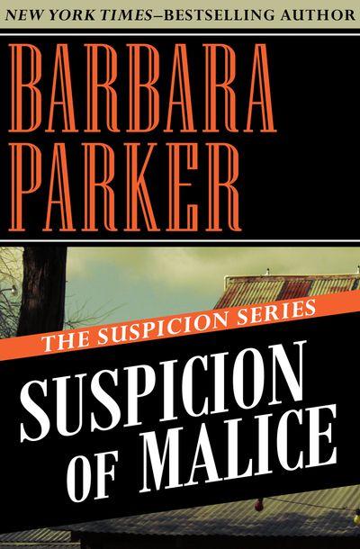 Buy Suspicion of Malice at Amazon