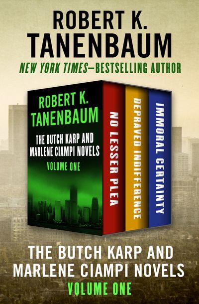 Buy The Butch Karp and Marlene Ciampi Novels Volume One at Amazon