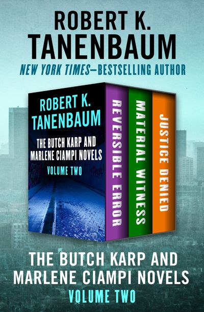Buy The Butch Karp and Marlene Ciampi Novels Volume Two at Amazon