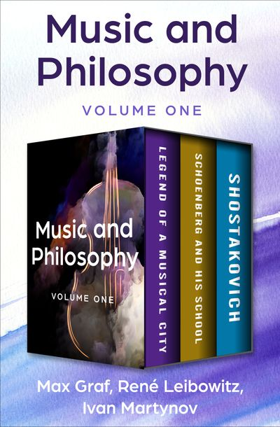 Music and Philosophy Volume One