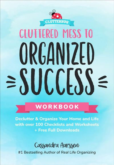 Buy Cluttered Mess to Organized Success Workbook at Amazon