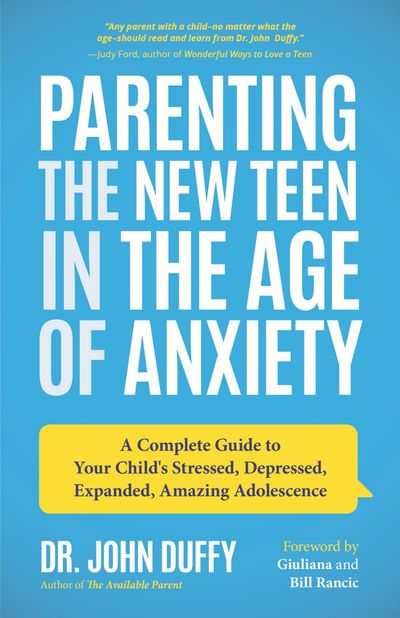 Buy Parenting the New Teen in the Age of Anxiety at Amazon