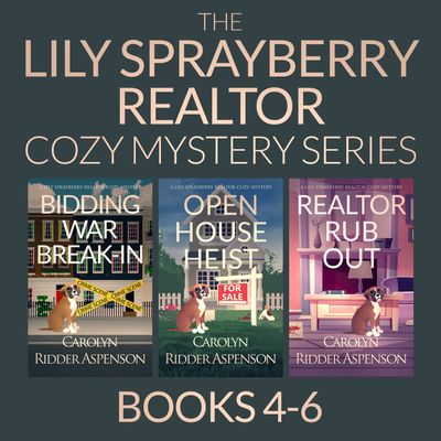 The Lily Sprayberry Cozy Mystery Series Books 4-6
