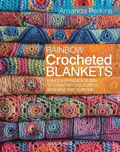 Buy Rainbow Crocheted Blankets at Amazon