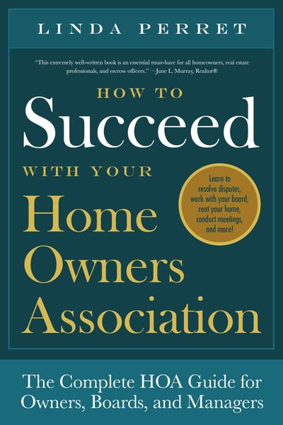 Buy How to Succeed With Your Homeowners Association at Amazon